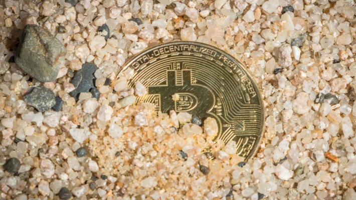 Биткоин потеря монета