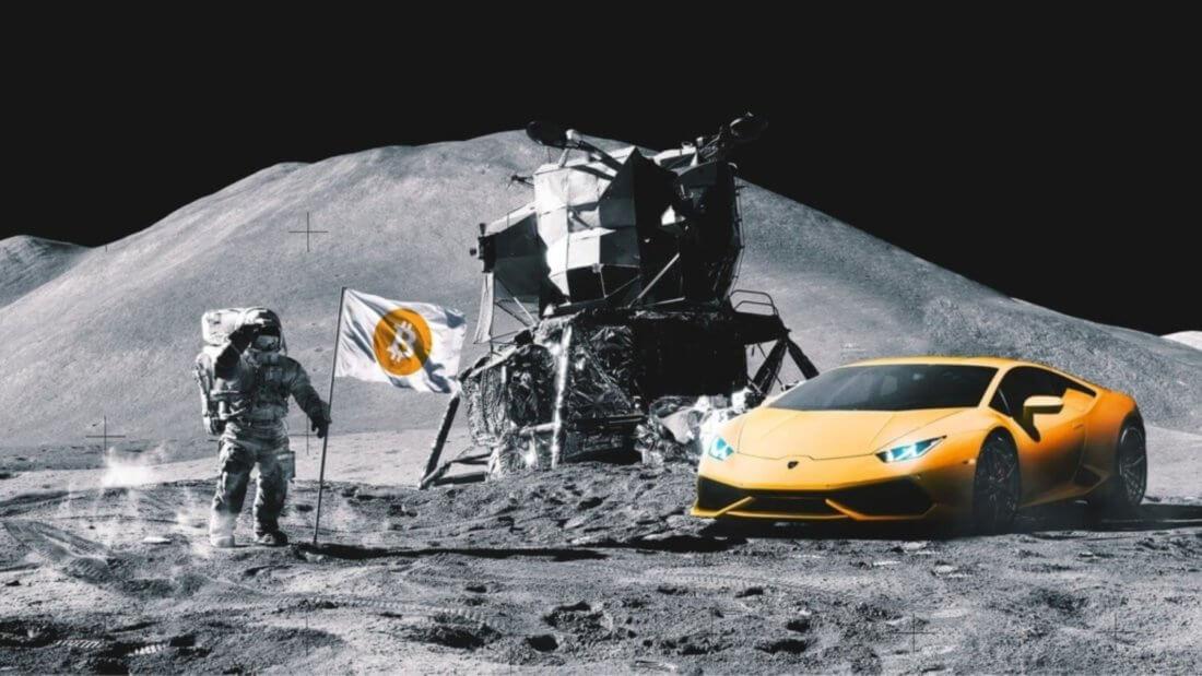 Луна Биткоин криптовалюта