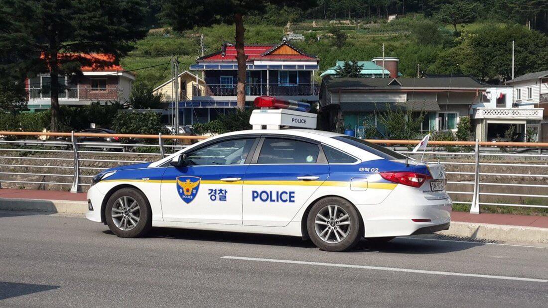 Машина полиция Корея