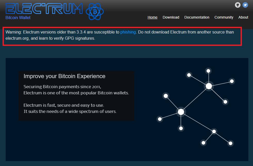 сайт electrum кошелек