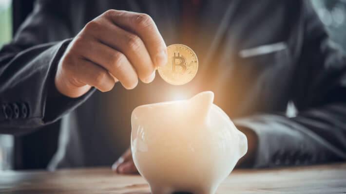 копилка Биткоин криптовалюта