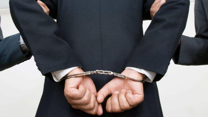 наручники арест полиция