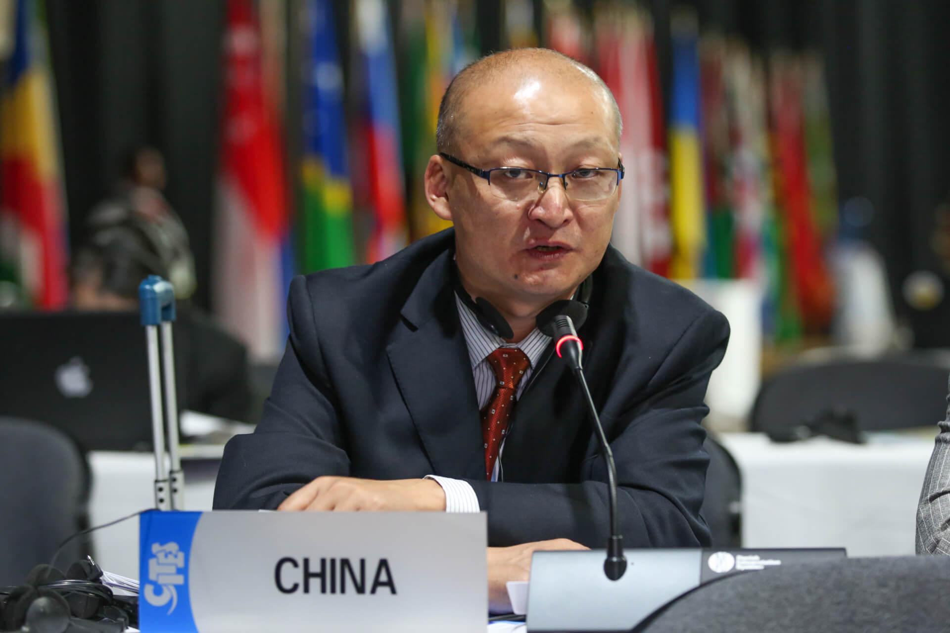 министр Китай блокчейн