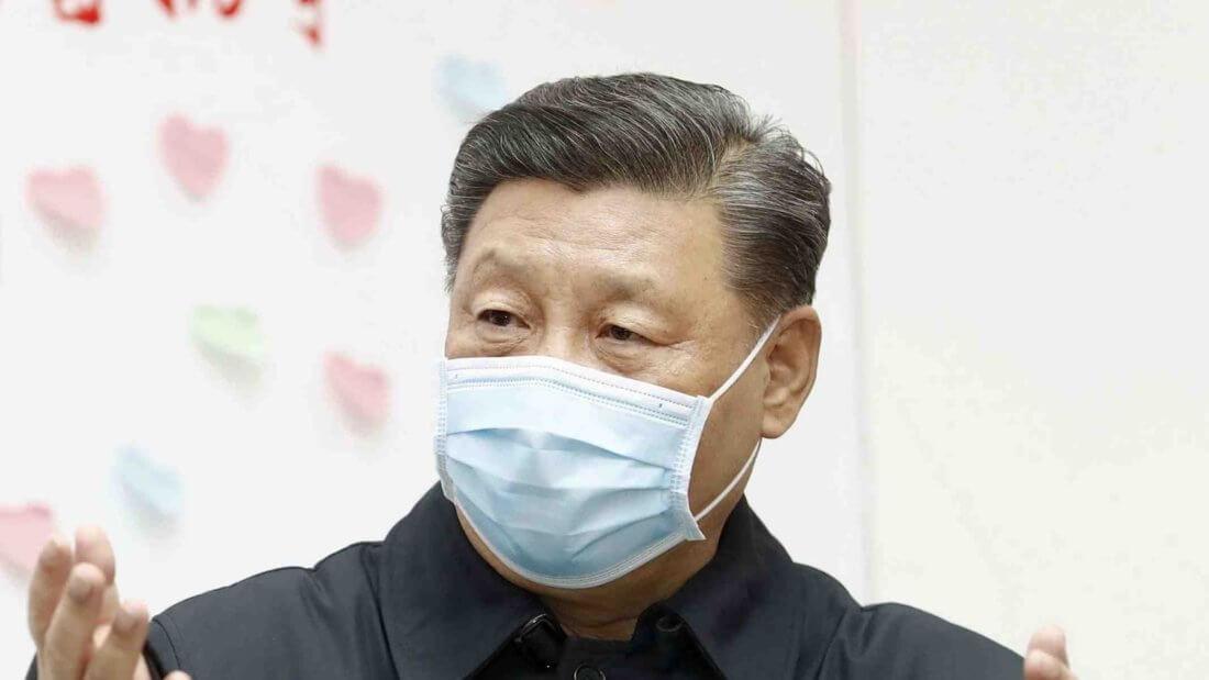 президент Китай блокчейн