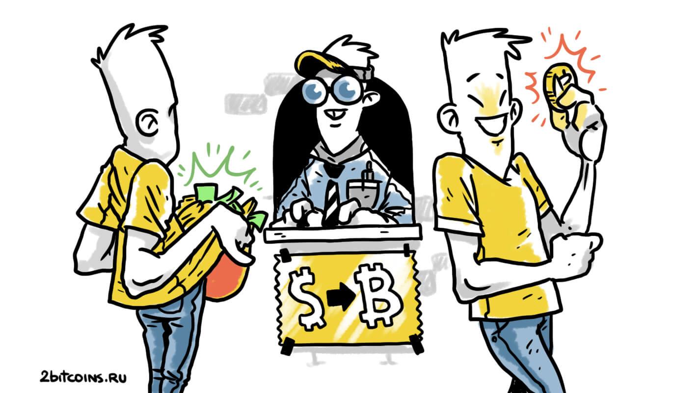 покупка биткоинов
