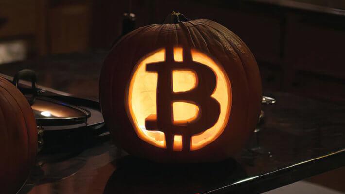 Биткоин Хэллоуин блокчейн