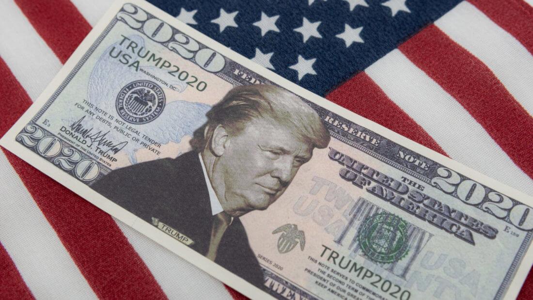Трамп доллар Биткоин