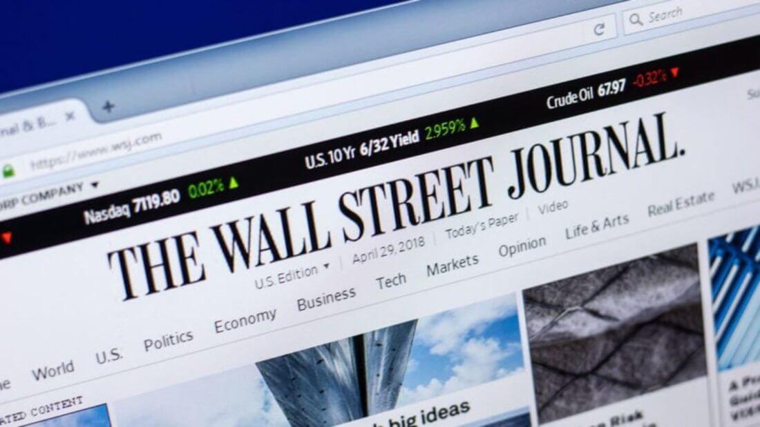 WSJ Wall Street Journal Биткоин Уолл-стрит