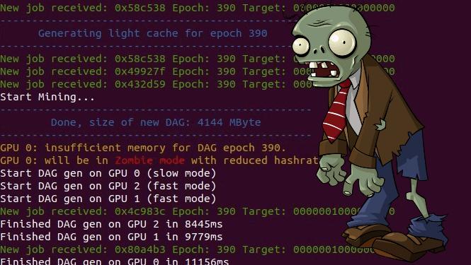 Зомби-режим майнинга