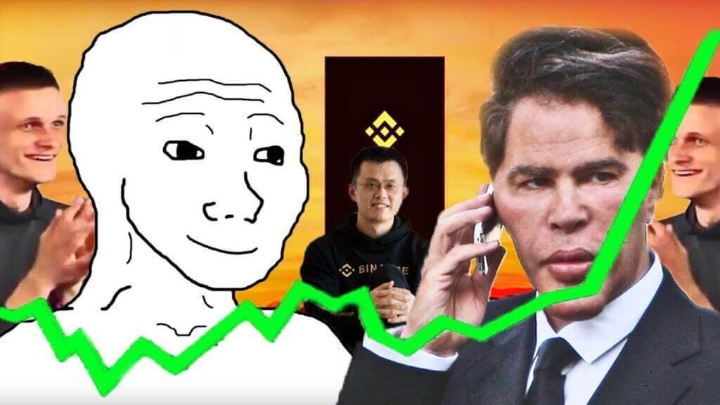 рынок рост криптовалюты мем