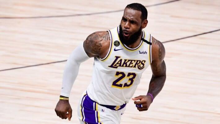 Леброн Джеймс баскетбол