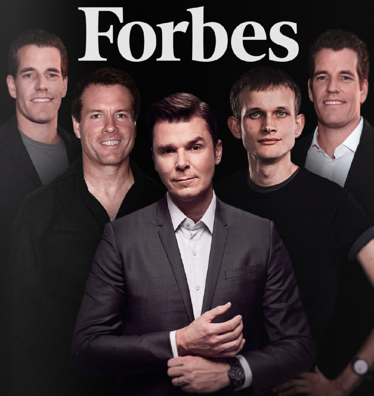 Forbes миллиардеры криптовалюты