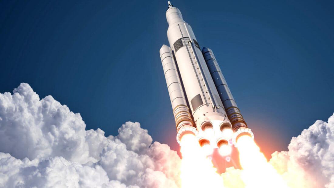 Ракета рост Биткоин