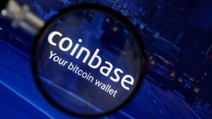 Coinbase биржа криптовалюты