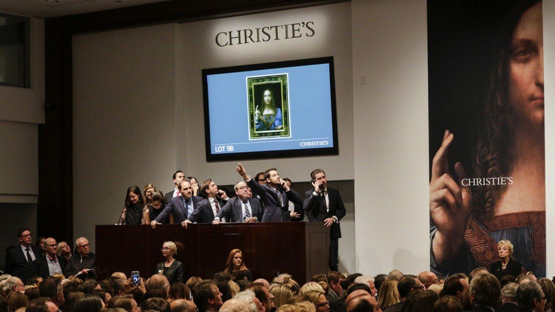 christies аукцион продажа торги