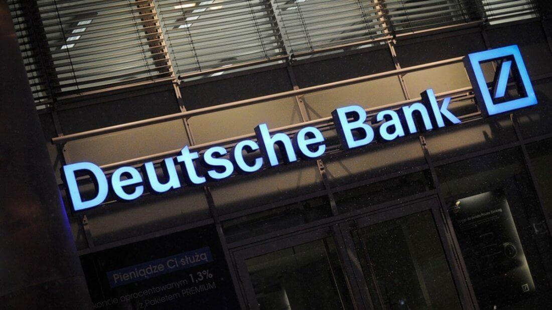 Deutsche Bank банк криптовалюты
