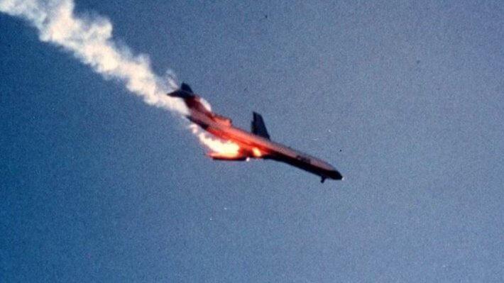 Самолет падение Биткоин