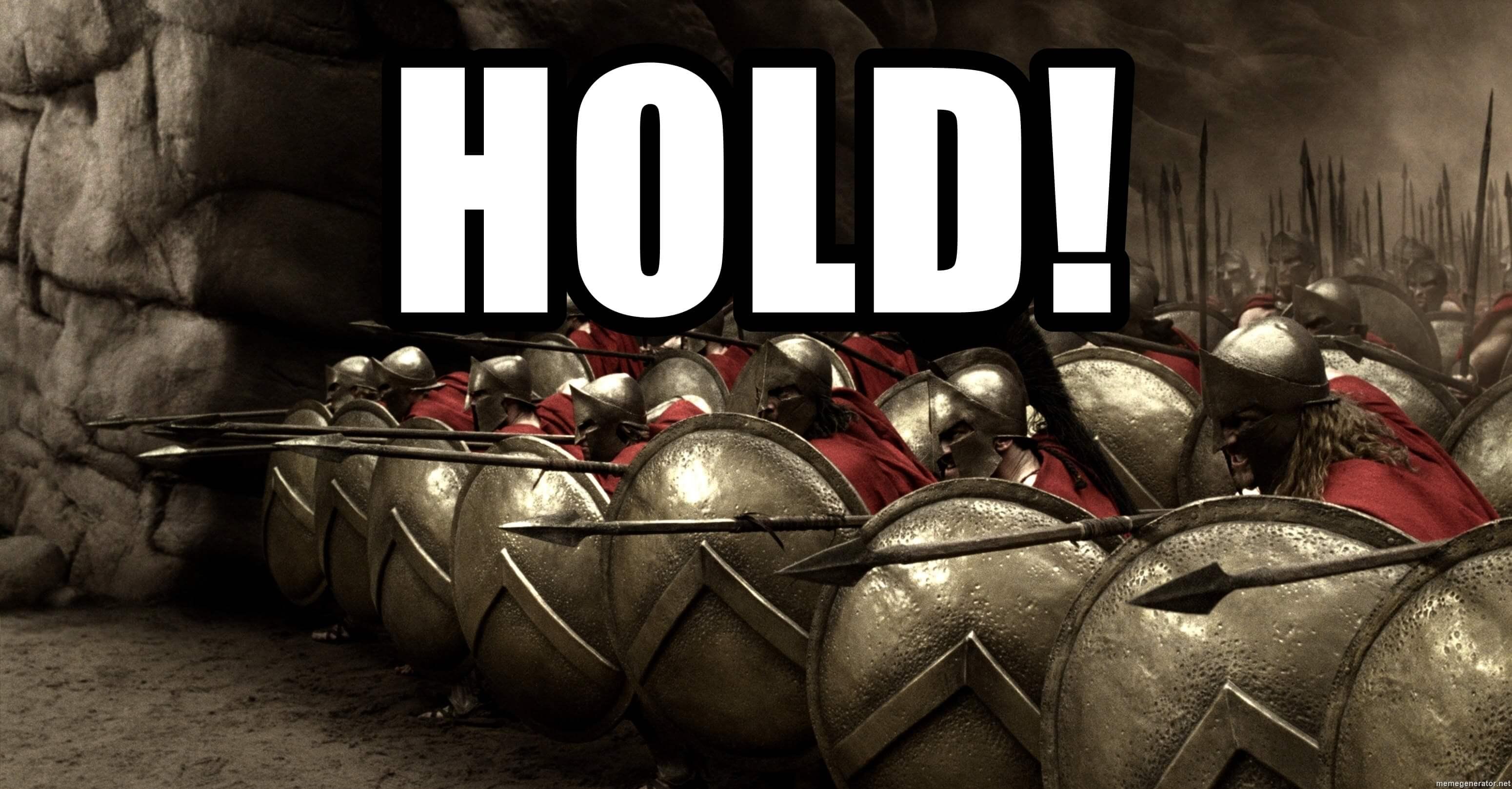 ходл мем 300 спартанцев