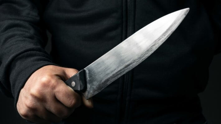 нож угроза убийство