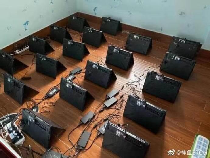 майнинг ноутбуки