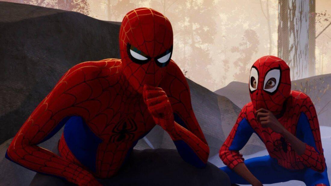 рисунок NFT человек-паук мем