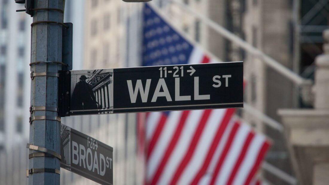 Уолл-стрит США Америка финансы