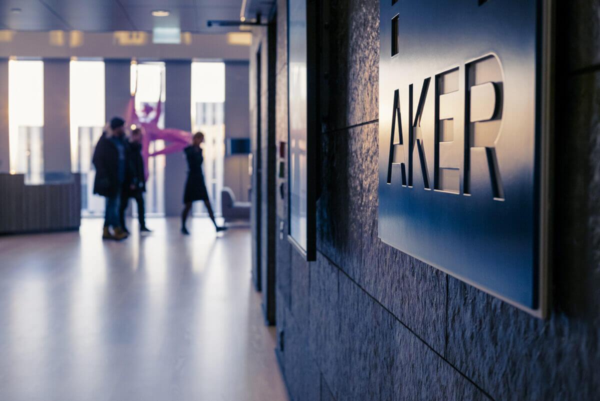 Aker норвегия компания