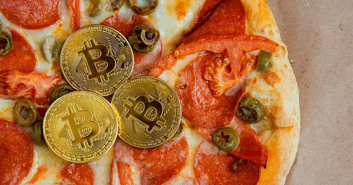 пиццерия фото пицца Биткоин
