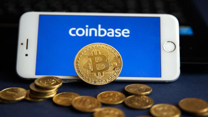 Coinbase биржа криптовалюты Биткоин