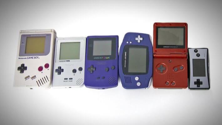 Консоль Nintendo Game Boy