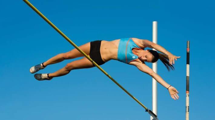 прыжок рекорд шест спорт