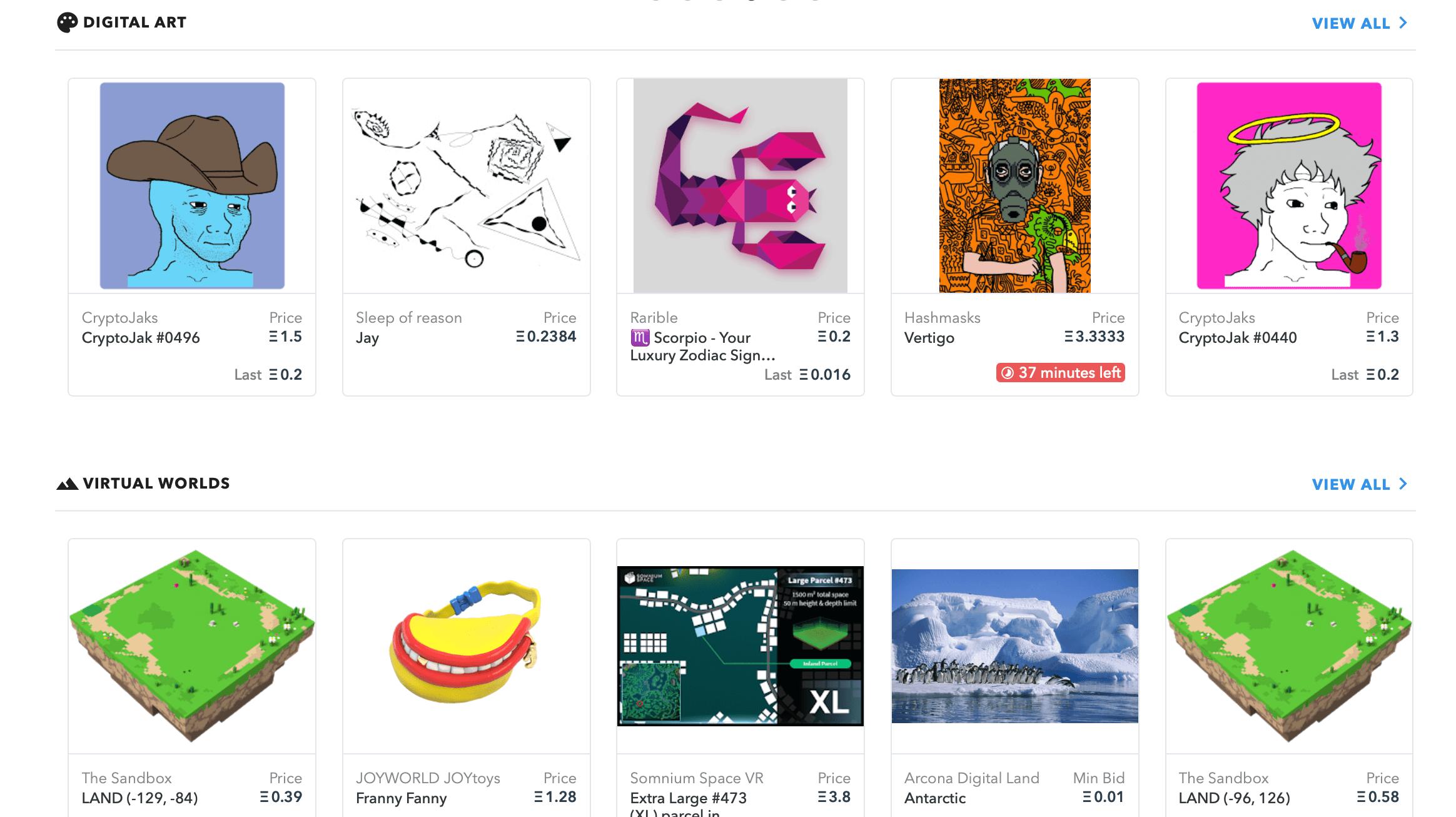 Главная OpenSea