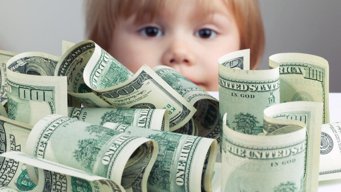 деньги доллар банкноты