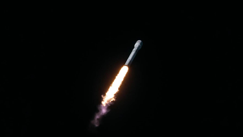Ракета полет SpaceX