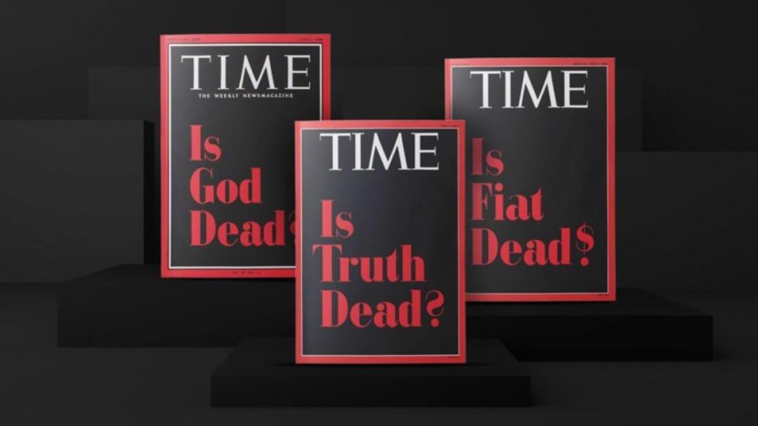 TIME обложка журнал