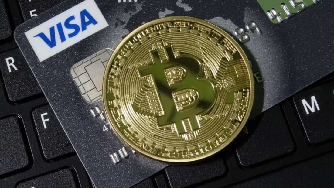 Биткоин Visa криптовалюты блокчейн