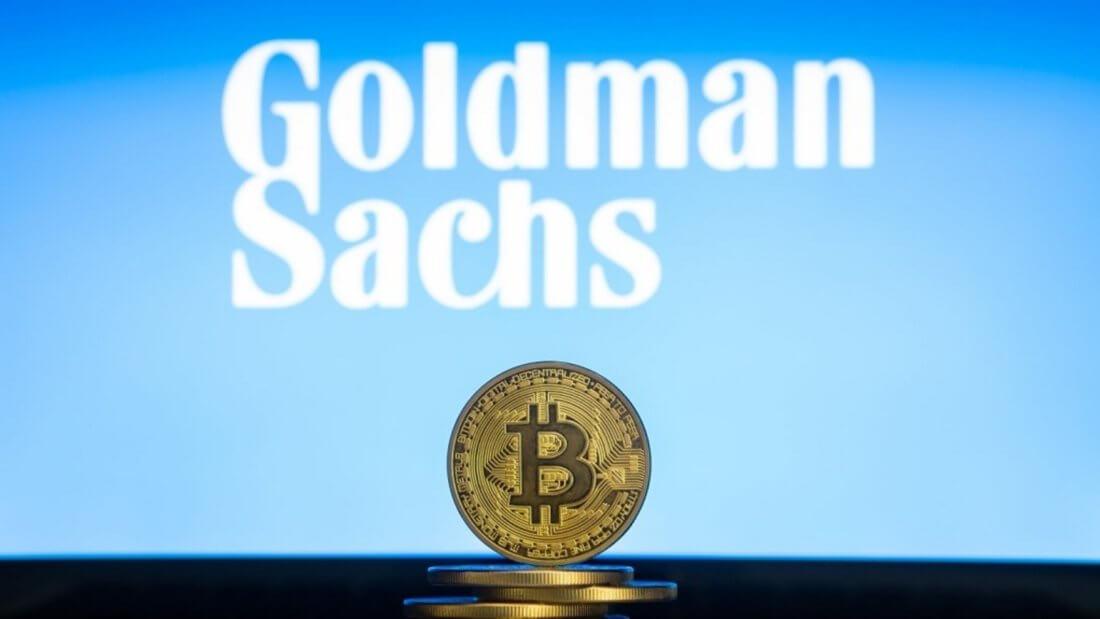 Goldman Sachs банк криптовалюта