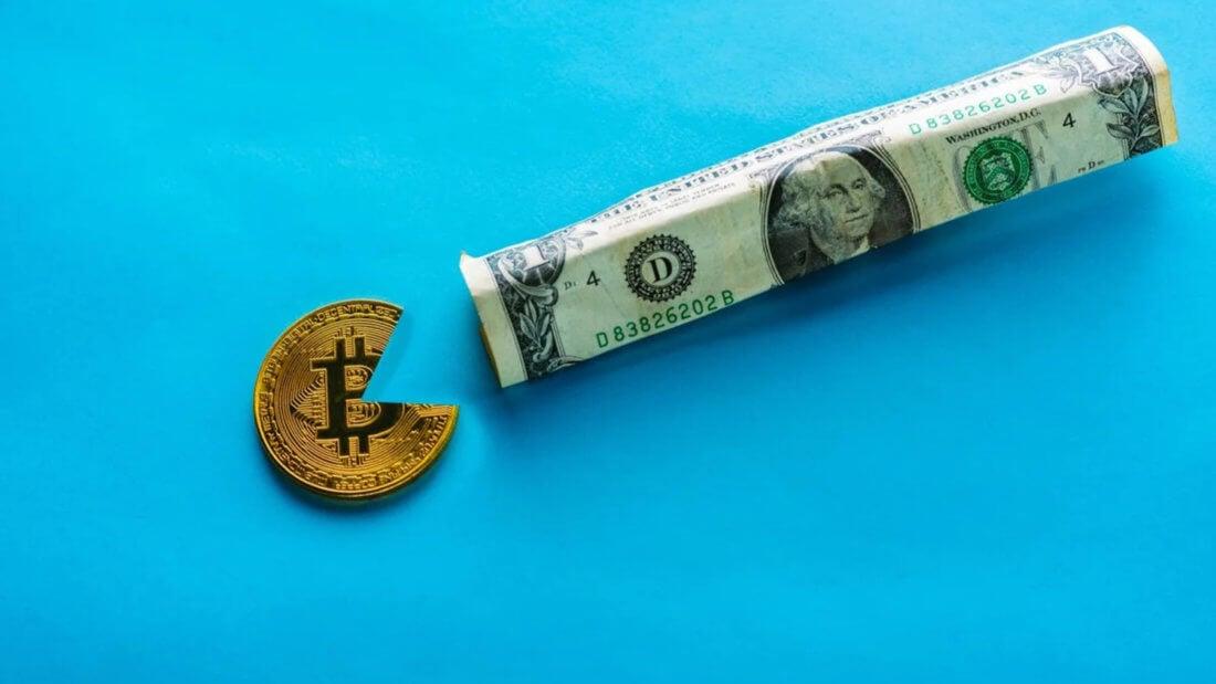 доллар Биткоин блокчейн