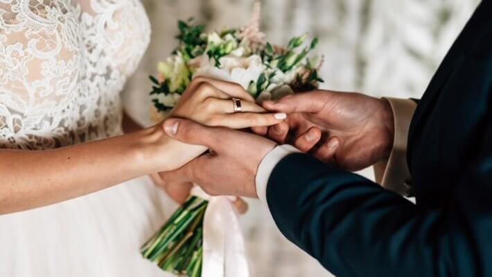 свадьба кольца блокчейн