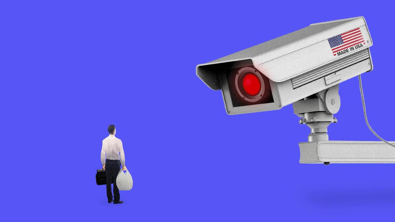 слежка ЦРУ камера