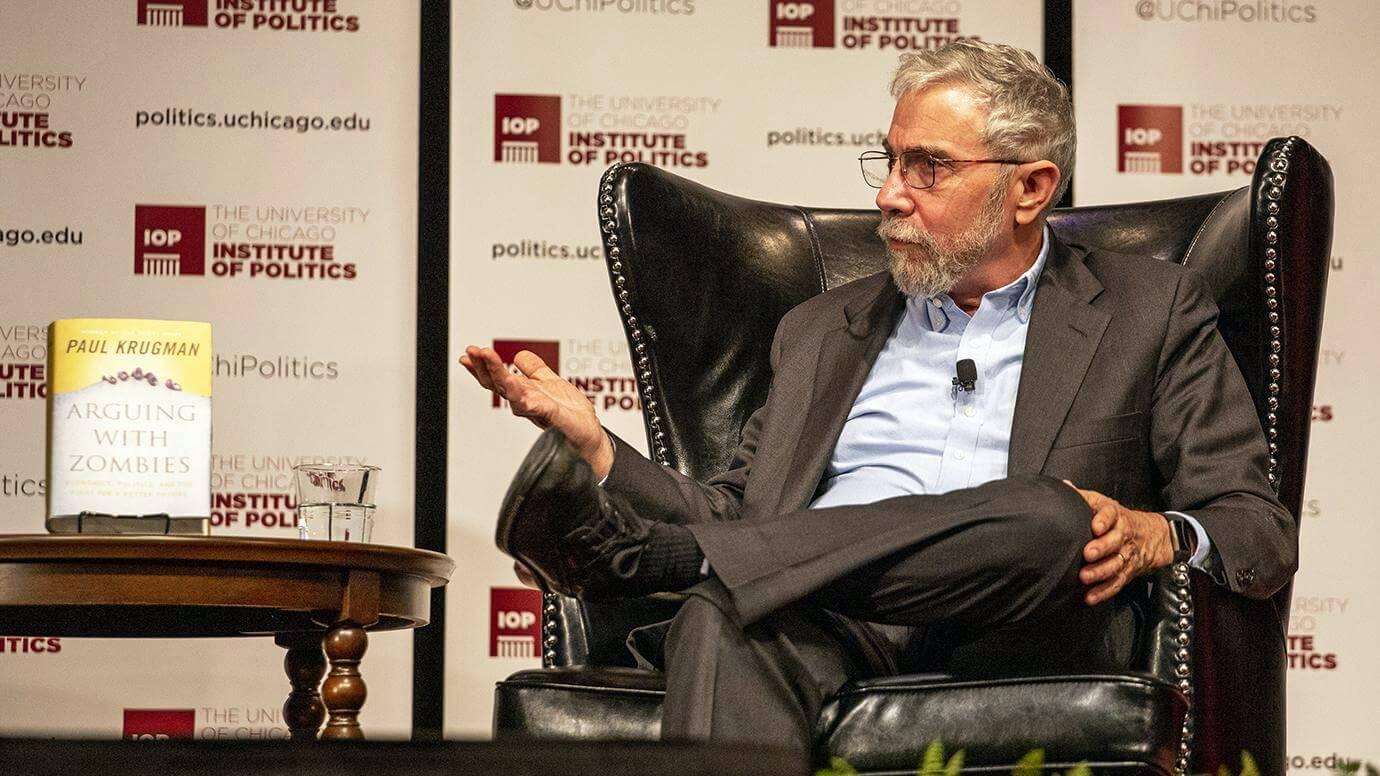 Пол Кругман экономист Биткоин