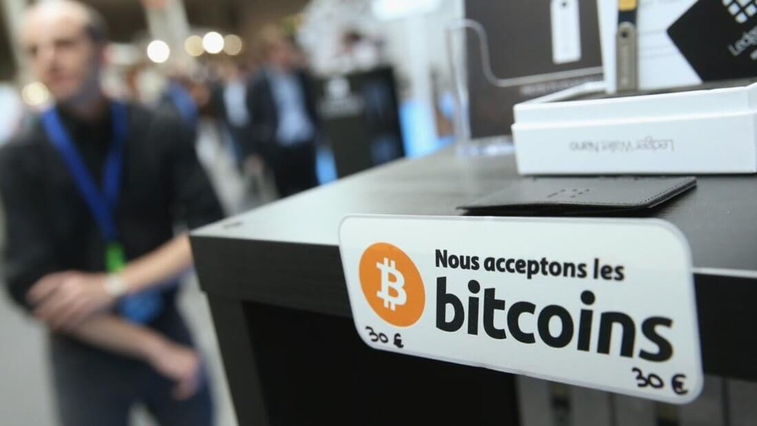 Биткоин принятие блокчейн криптовалюта