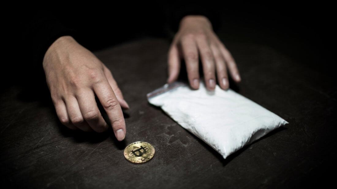 Биткоин преступность наркотики крипта блокчейн
