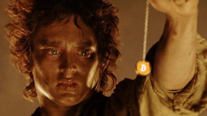 Властелин колец Фродо Биткоин криптовалюта мем