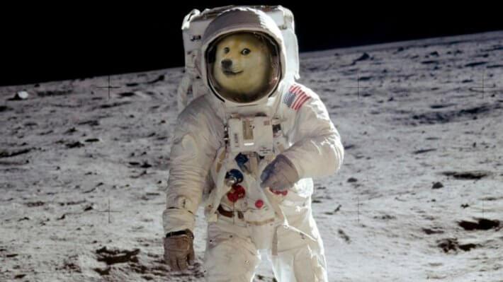 Dogecoin Луна криптовалюта