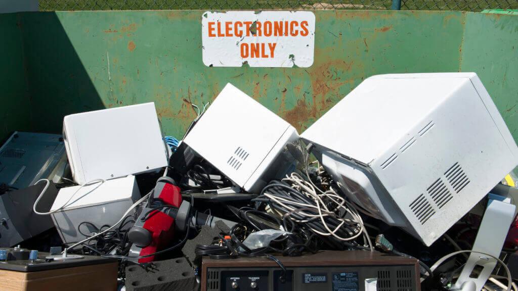свалка мусор оборудование