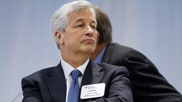 Джейми Даймон JP Morgan