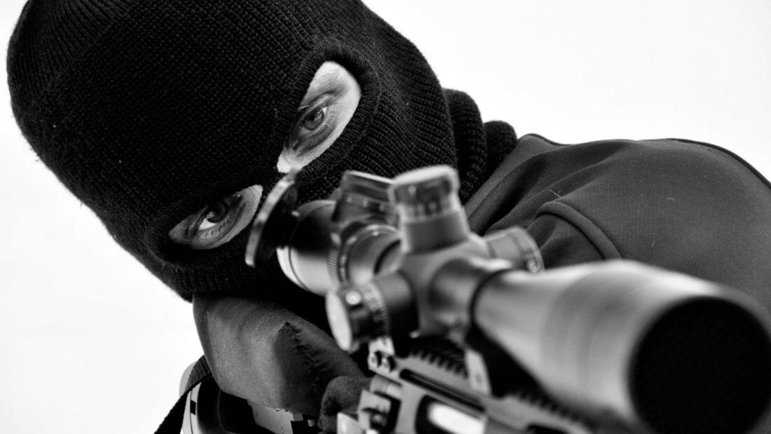 Киллер убийство винтовка