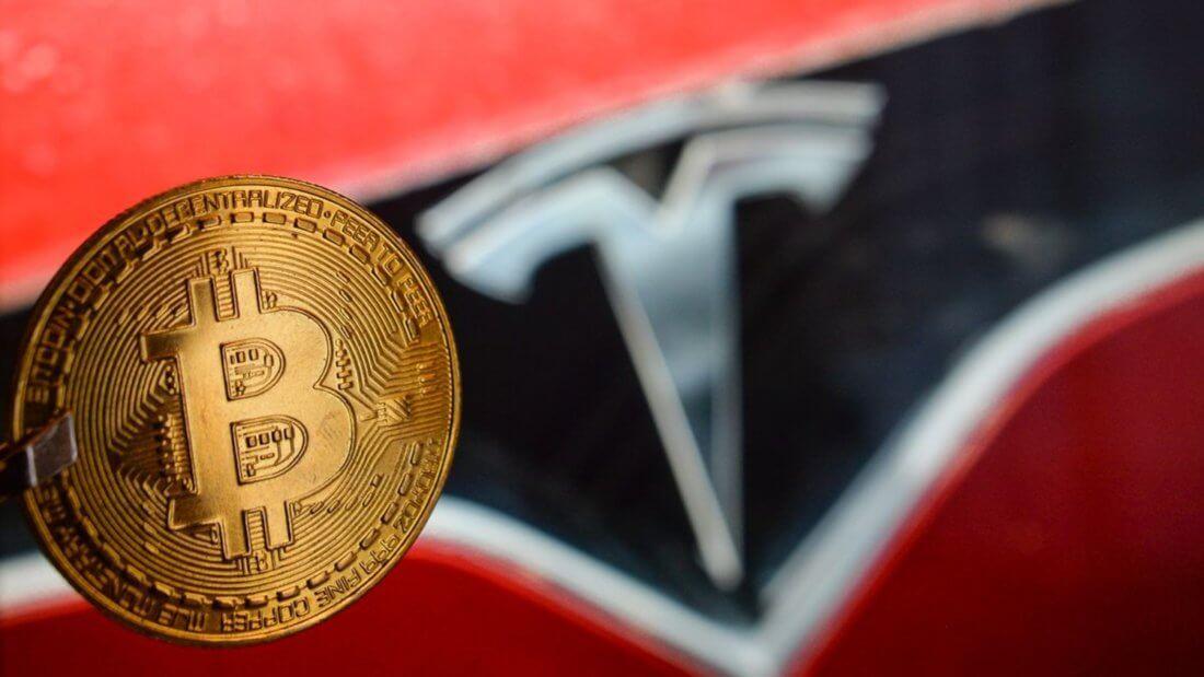 Tesla Биткоин криптовалюта