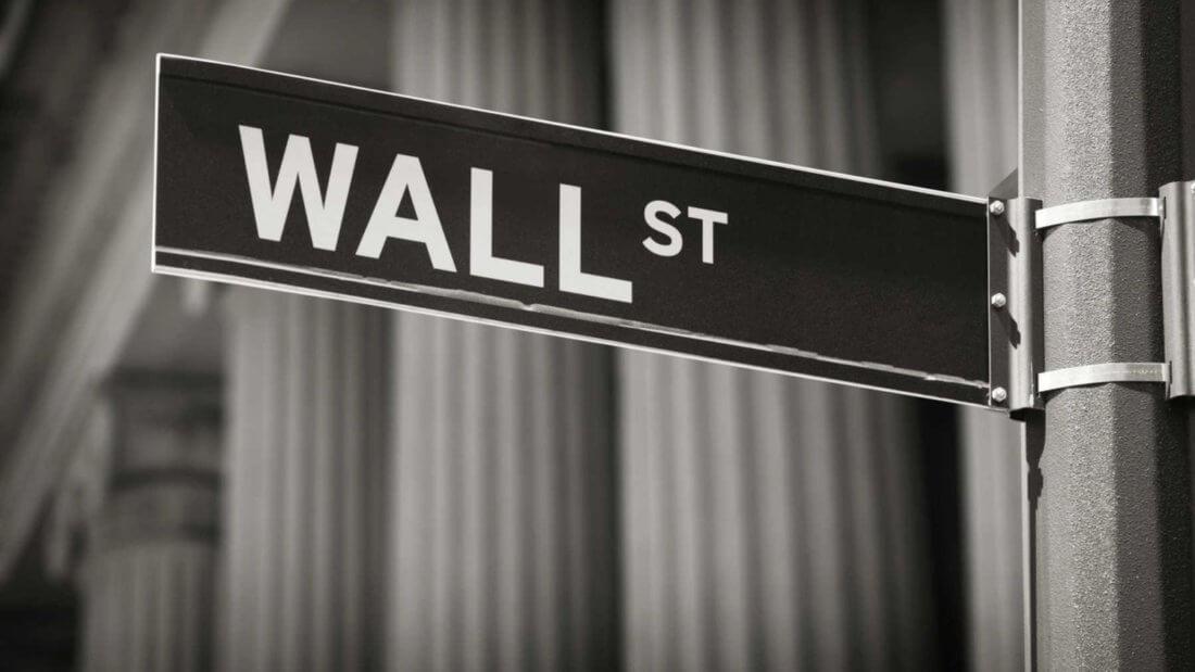 Уолл-стрит США финансы